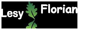 Lesy Florián - pila robín - logo